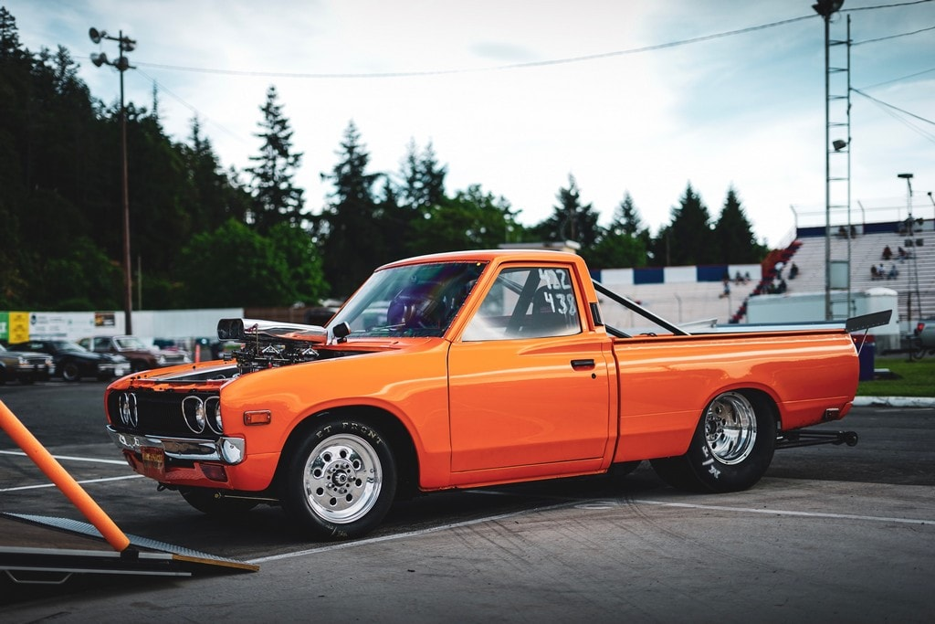 Ray Rozon - Victoria, British Columbia - 1974 Datsun 620 Pickup