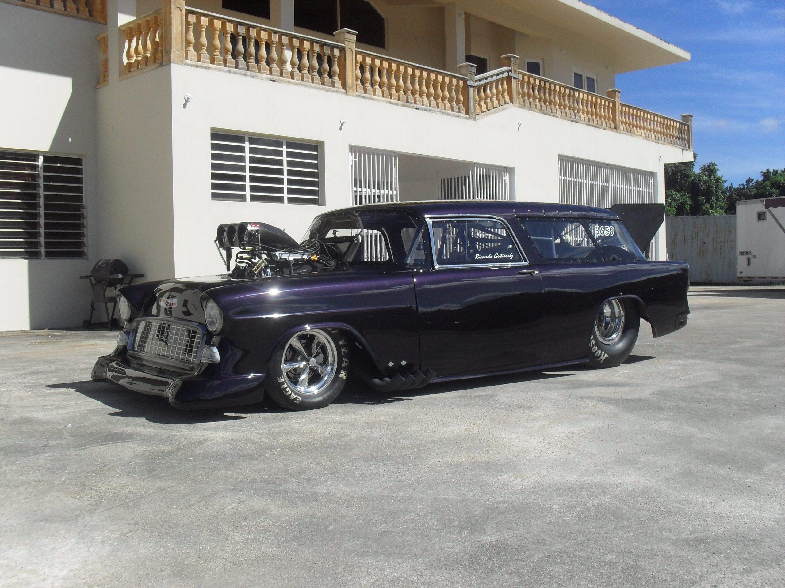 Ricardo Gutierrez - Tampa, FL - 1955 Chevrolet Nomad