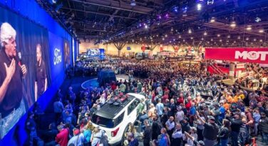 SEMA 2019 Show Floor Ford Press Conference
