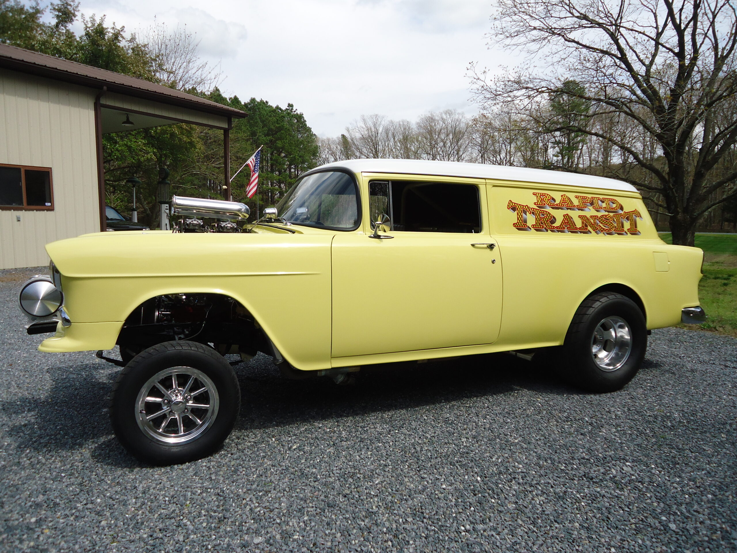 Donald Van Bourgondien Sr - Trappe, MD - 1955 Chevy Sedan Delivery Gasser