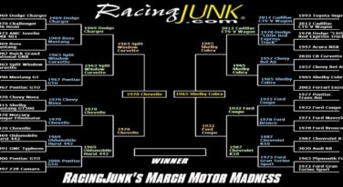 RacingJunk's March Motor Madness Final Four Results & Championship Voting