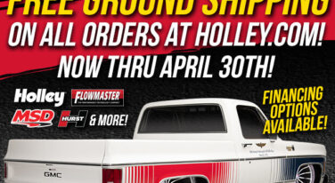 Holley to Offer Free Shipping On all Orders