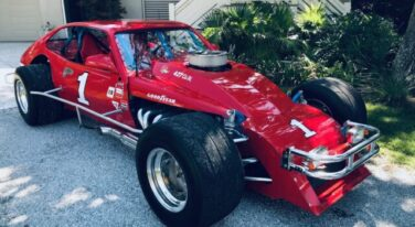 Car Features: Dick Trammell and His NASCAR Modified Ford Pinto