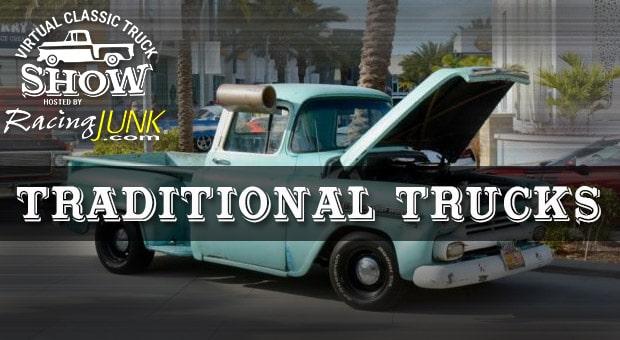 Virtual Car Show Traditional Trucks