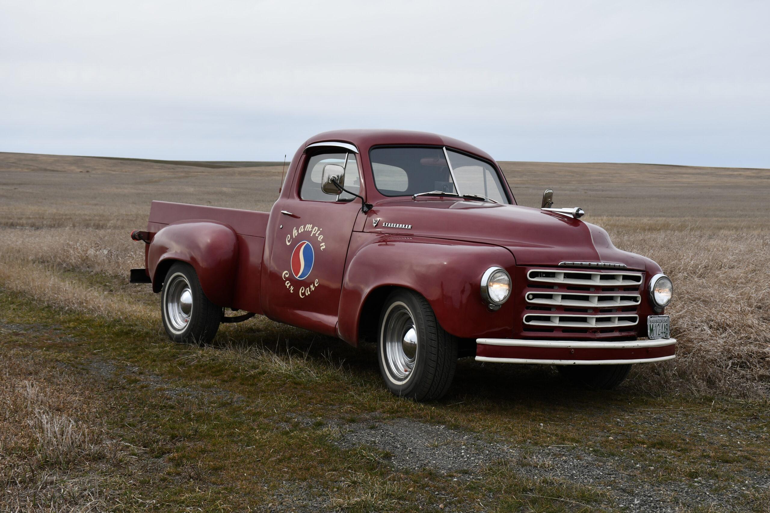 Brian Curtis - Davenport, WA - 1949 Studebaker Pickup