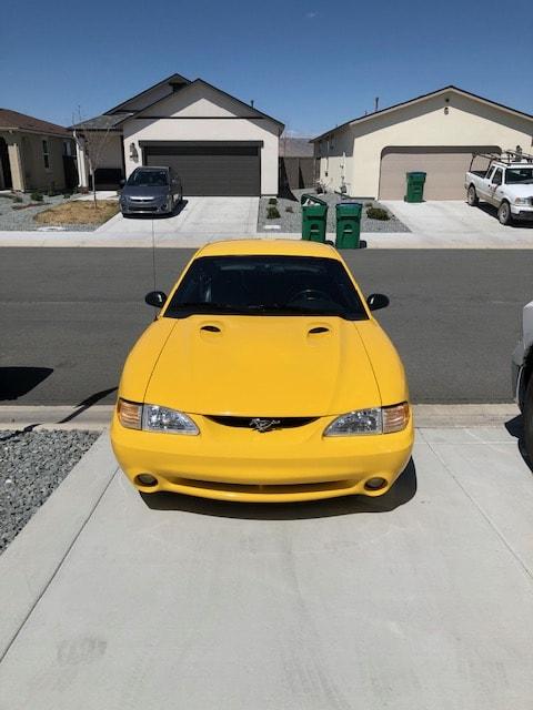 Eric Christensen - Sparks, Nevada - 1998 Ford Mustang Cobra