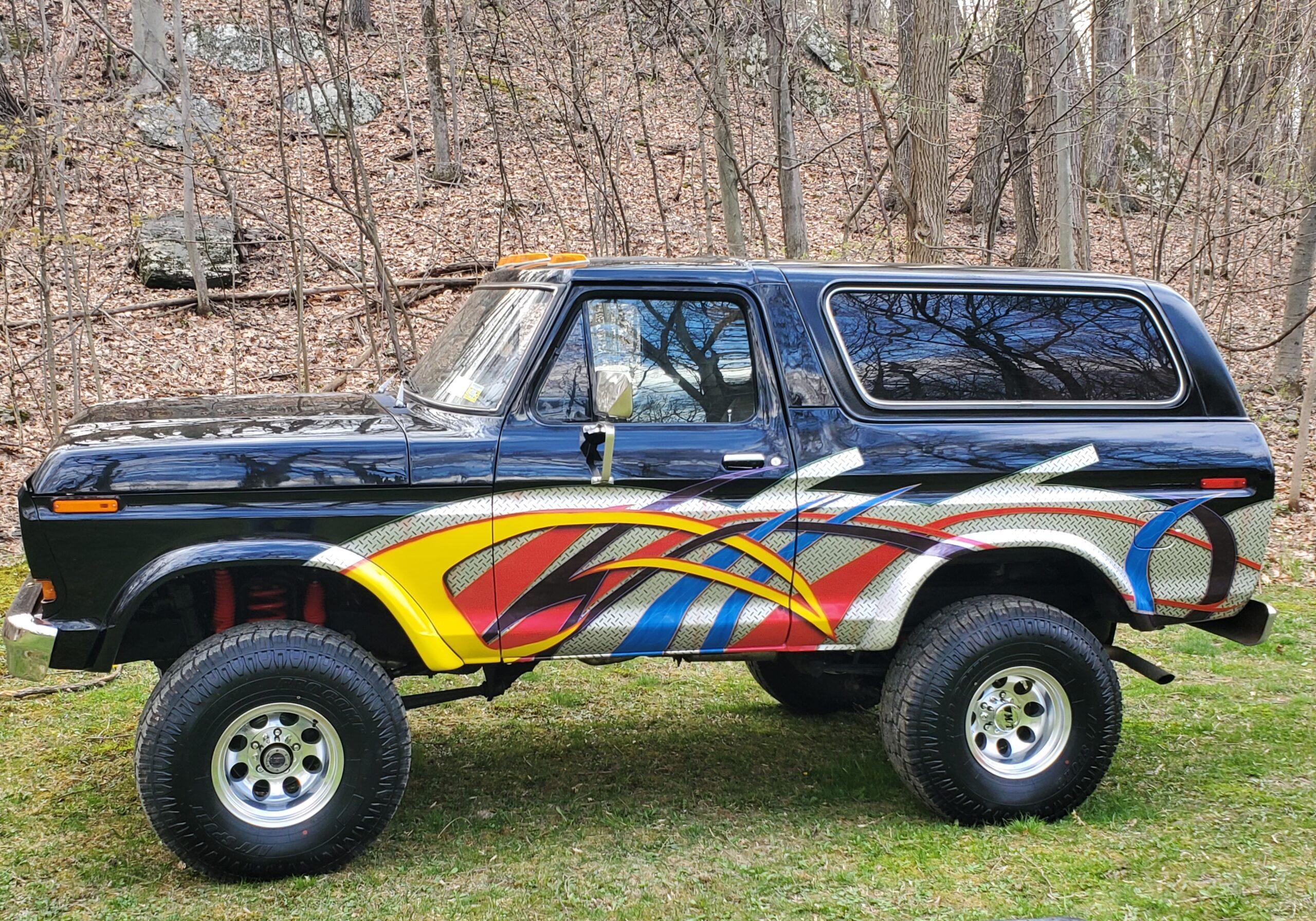 George Bazata - Clinton Corners, N.Y. - 1979 Ford Bronco