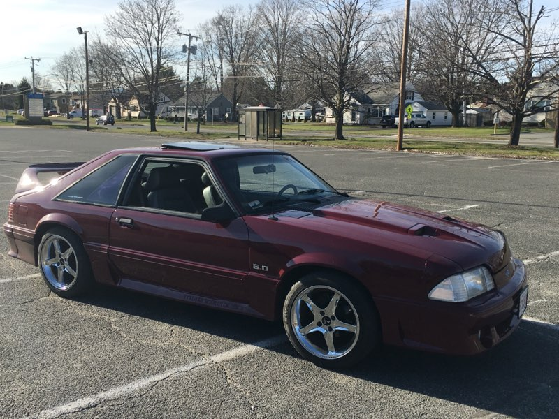 James Sweener - Pittsfield, MA - 1988 Ford Mustang GT