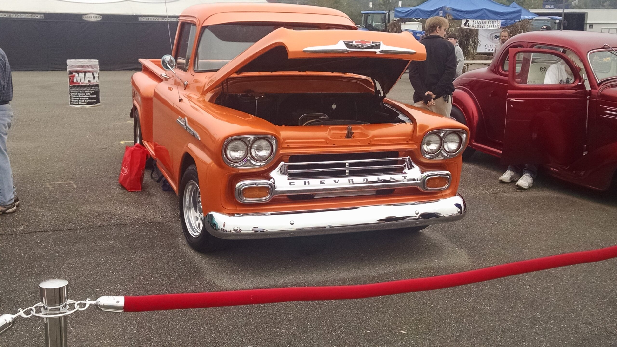 J.R. Dugas - Greenwich, NY - 1958 Chevy Apache 3200