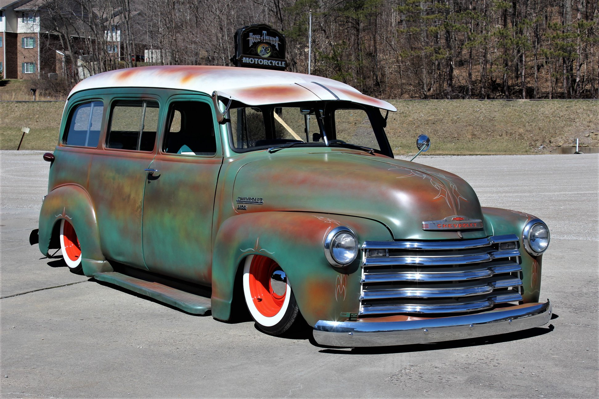 Jim Scaduto - Redwood City, CA - 1950 Chevy Suburban
