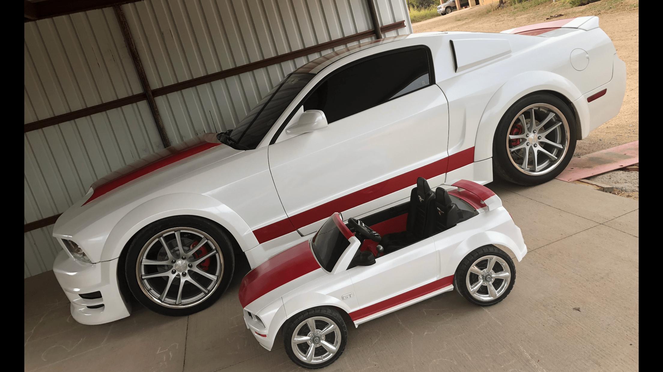Jr Martinez -Belen, NM 2007 Ford Mustang - Power wheels