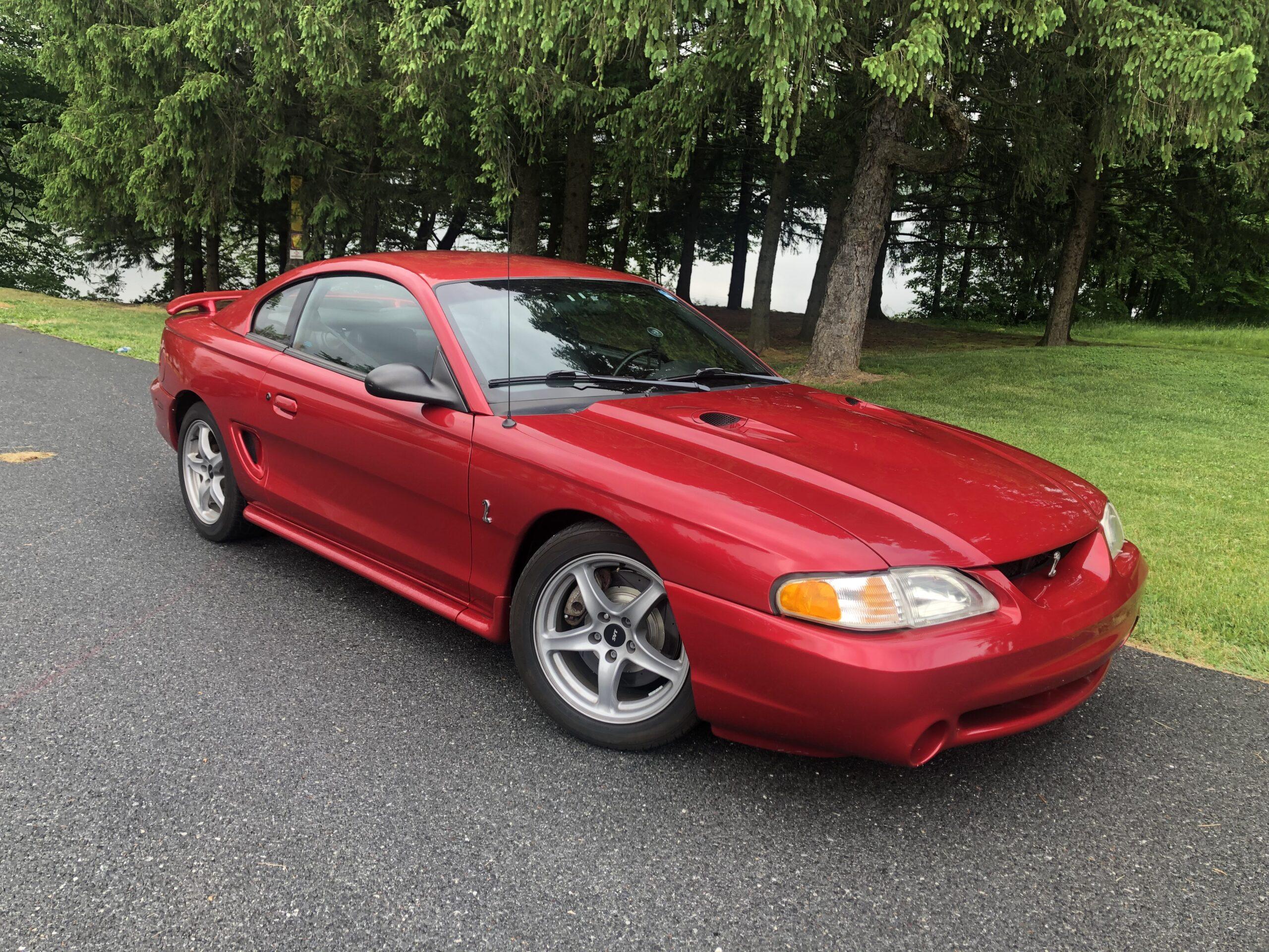 Matthew Parrett - Blandon, PA - 1998 Ford Mustang SVT Cobra
