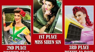 Congratulations to the All American Pinup Winners