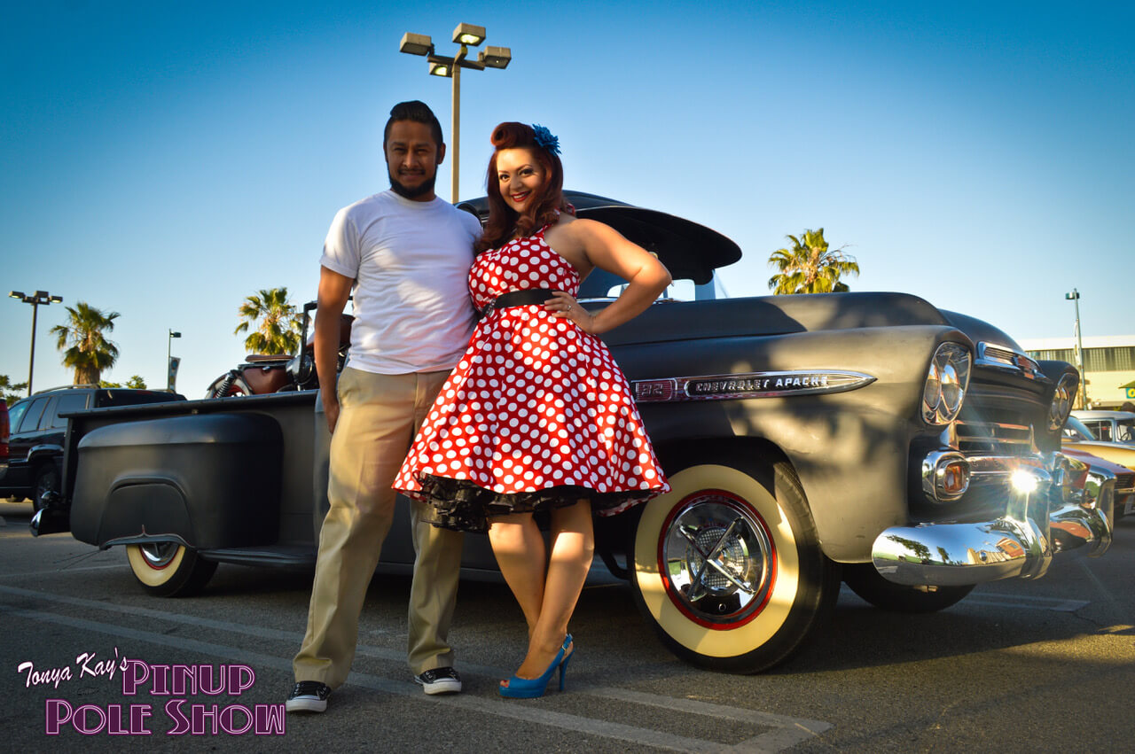 Cherry Rosie with 1954 Chevy 3100 Pickup Slide 3
