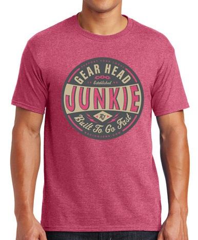 RacingJunk Red Gear Head T-Shirt