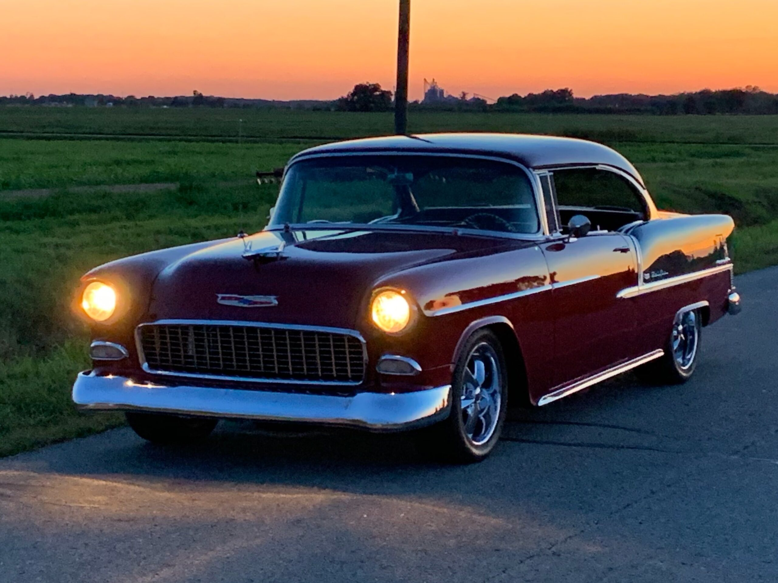 Chuck Bayes - Toledo, OH - 1955 Chevy Bel Air