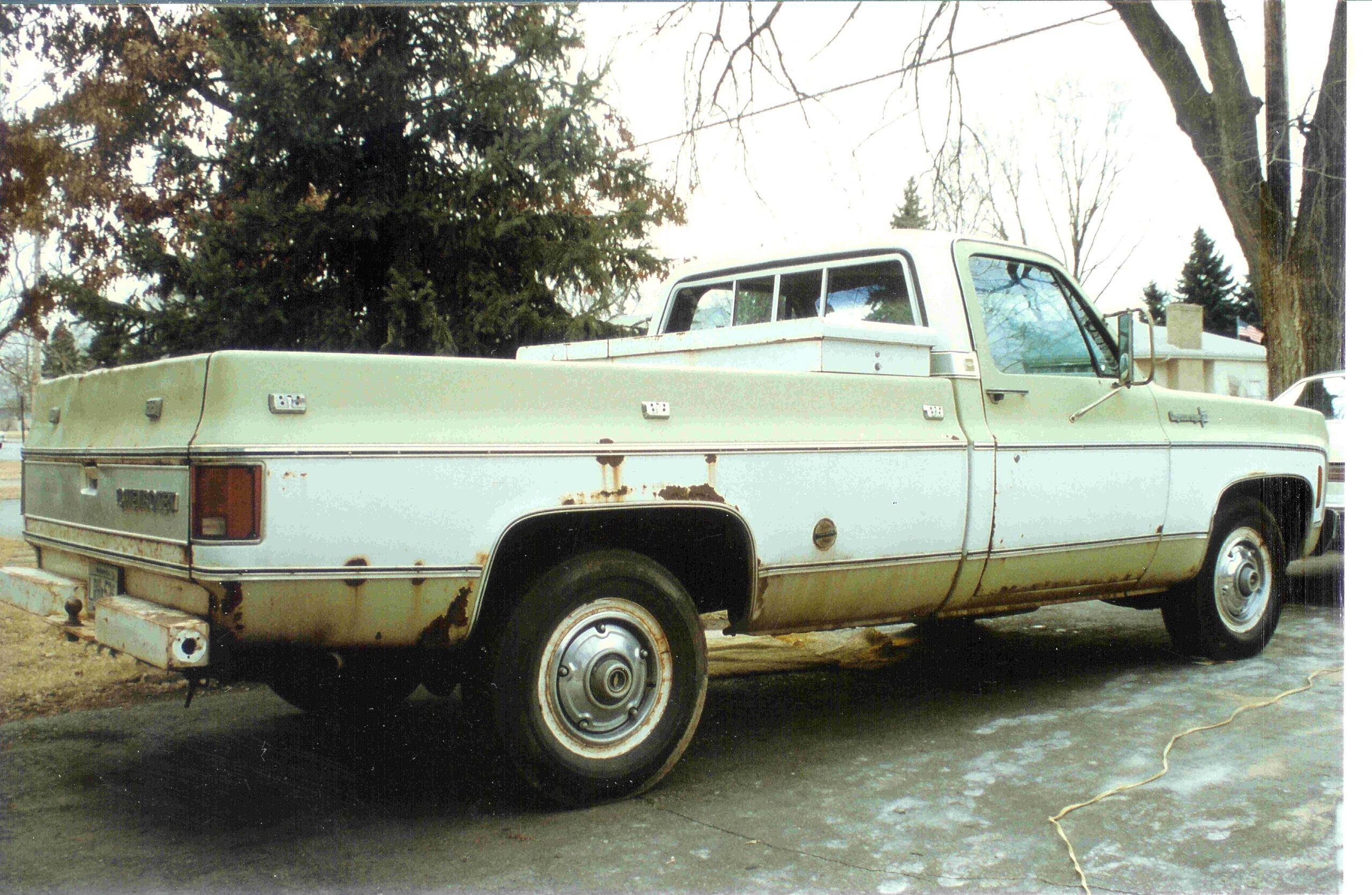 Karlan Hemper - Atlanta, GA - 1973 Chevy c20