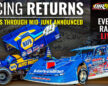 World of Outlaws Announces Race Schedule Through Mid- June