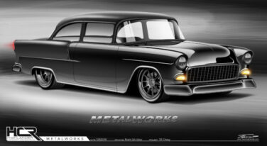[Video] MetalWorks Classics' ProTouring 1955 Chevy Build: Part 4
