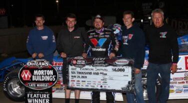 Brandon Sheppard Sweeps Davenport Speedway Weekend