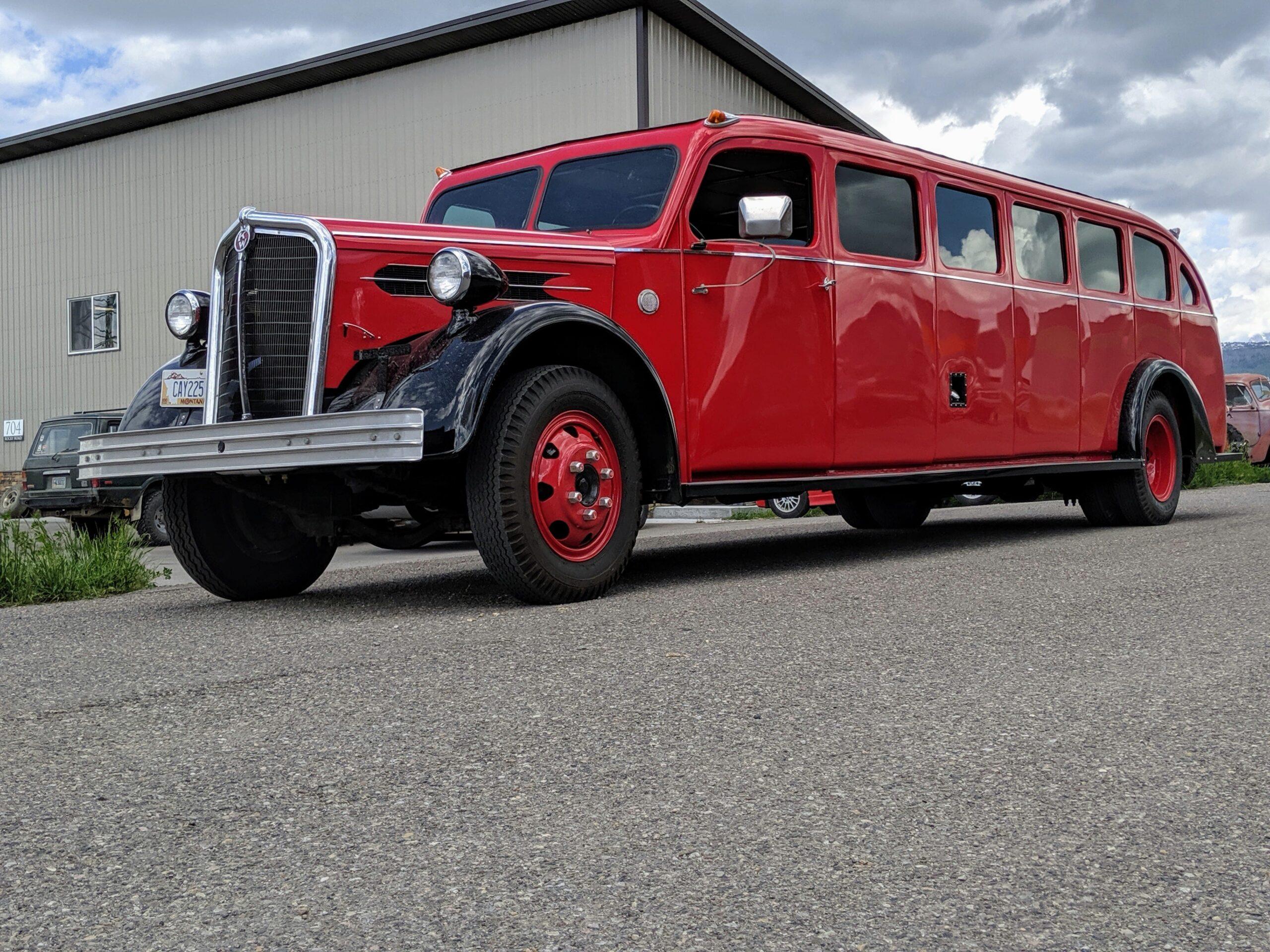 Legacy Classic Trucks Presents this 1937 Kenworth Rainier Bus
