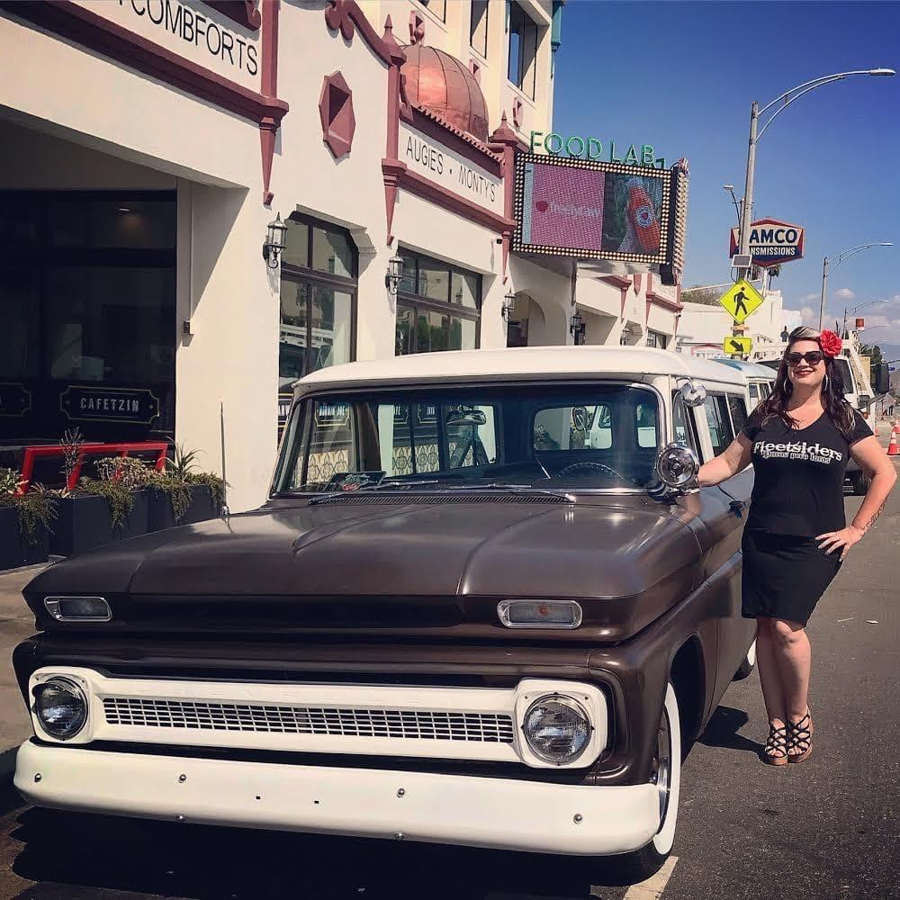 Jennifer Arens - 1960 Chevy Suburban - Pomona CA