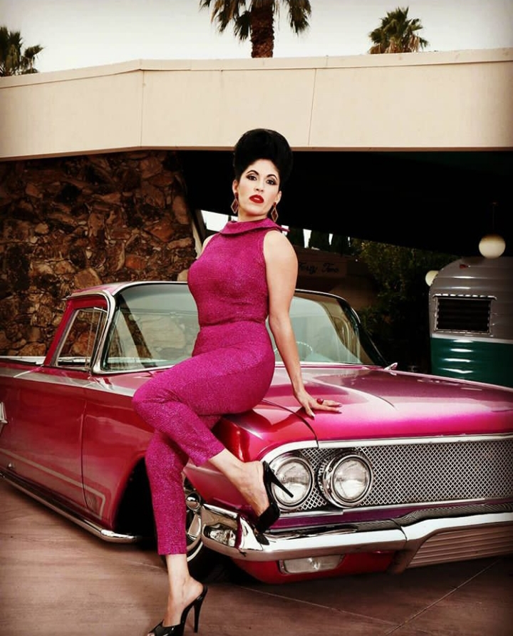 Priscilla Morales - 1960 Chevy El Camino - Victorville, CA