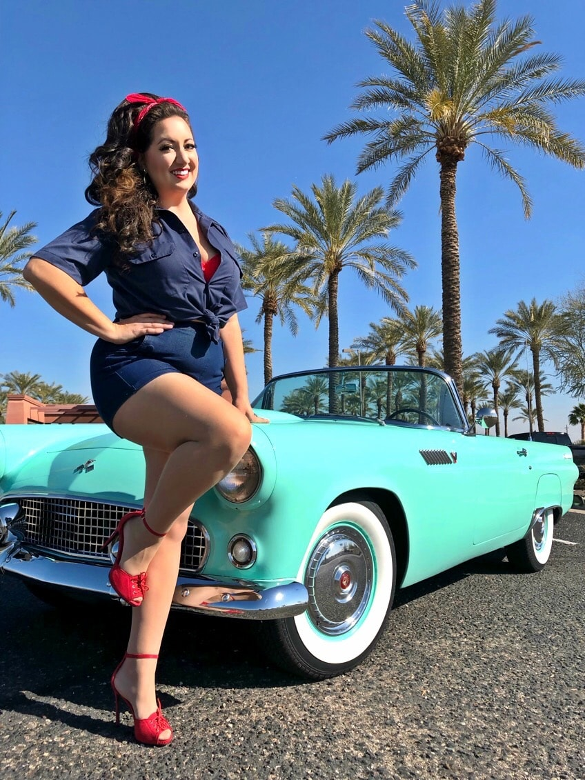 3rd Place -  Janine Badoino - Surprise, AZ - 1955 Ford Thunderbird