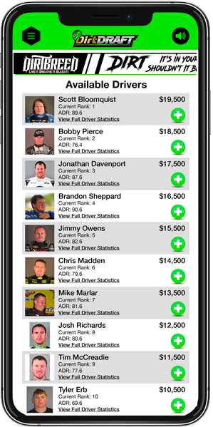 Dirt Draft Phone