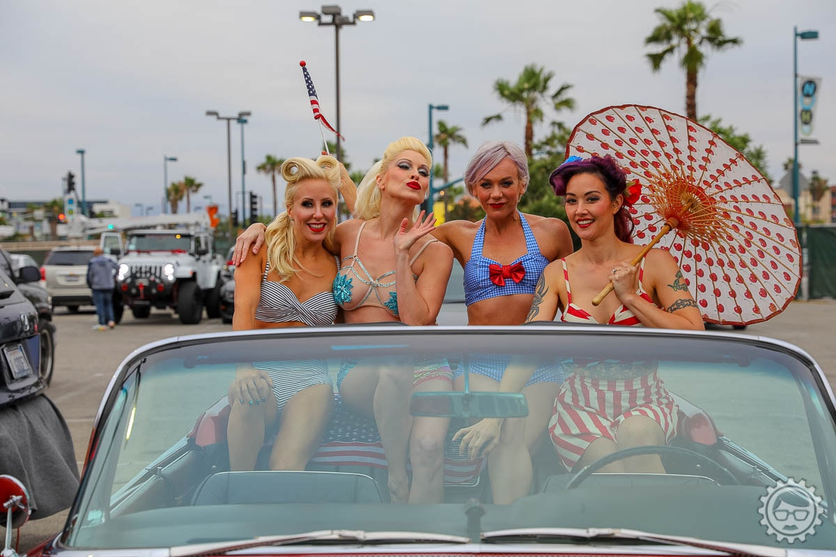 Pinup Pole Show Pinup of the Week: Tiffany Rose, Heather Lou, Tonya Kay, and Monica Kay