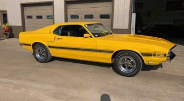 Today's Cool Car Find is this 1969 Shelby Ford Mustang GT350