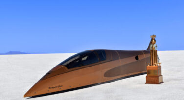 Speed Demon 715 Streamliner Shatters Records at Bonneville