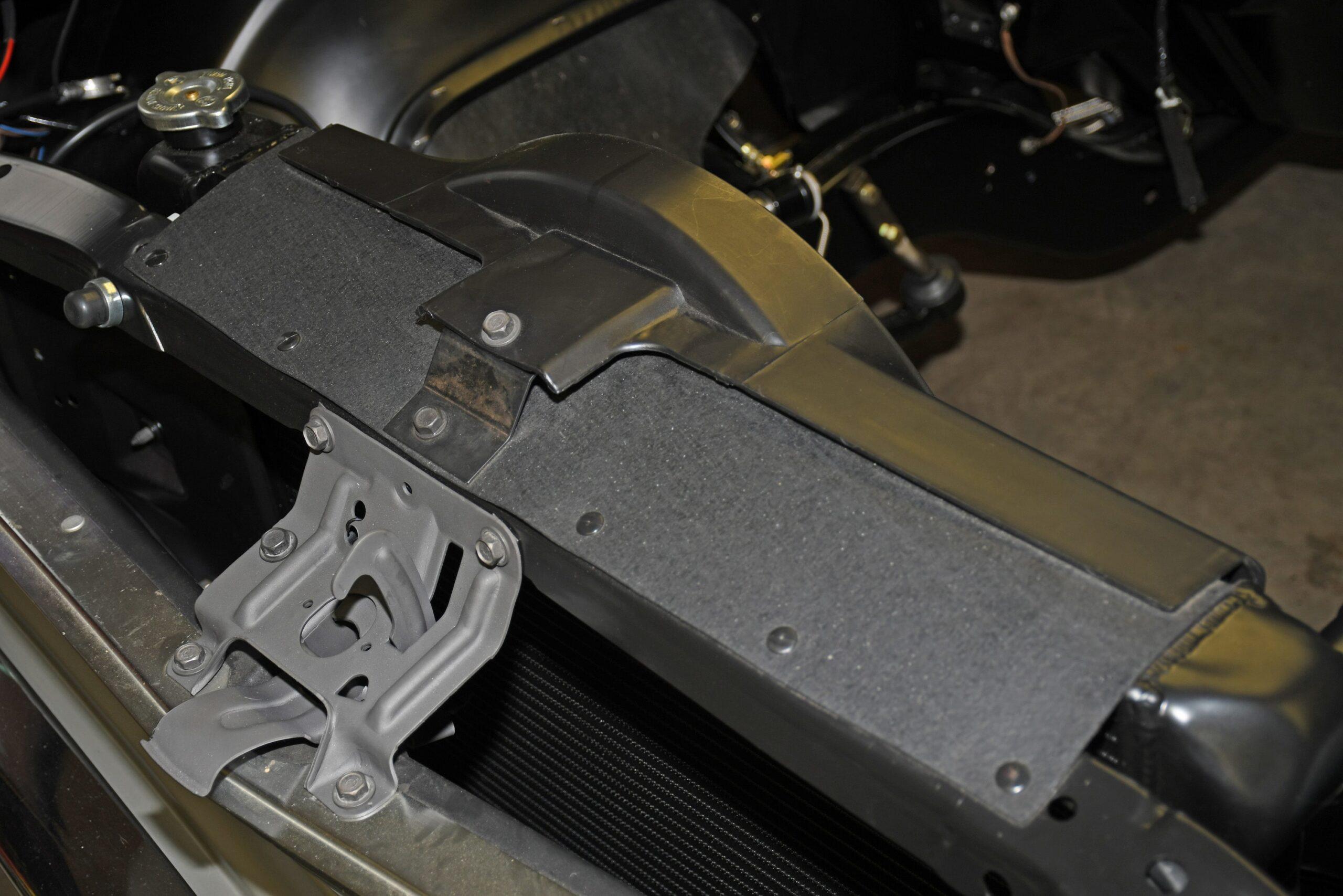 Big block rubber flap