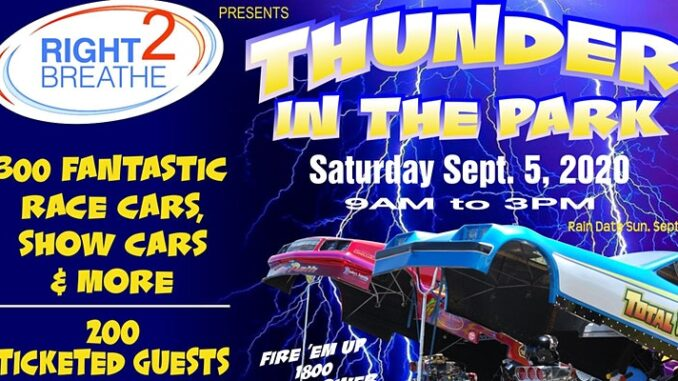 Thunder in the park