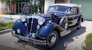 A 1937 Horch 853 Sports Cabriolet Named Best of Show for Petersen Concours D'Elegance