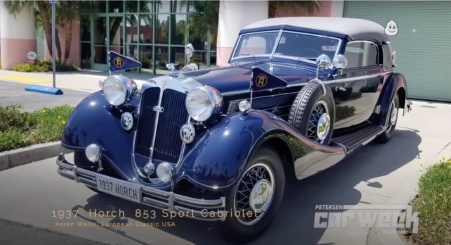 1937 Horch 853 Sports Cabriolet