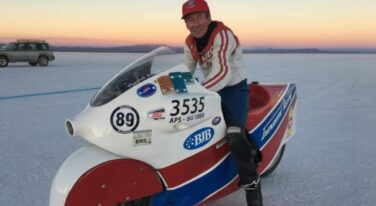 Motorcycle Racer Ralph Hudson Passes Away After Crash at Bonneville
