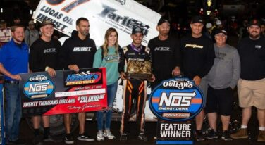 Larson Claims Another Impressive Win