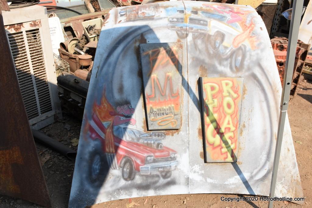 Big M Antique Auto Dismantling 10th annul Pig BBQ