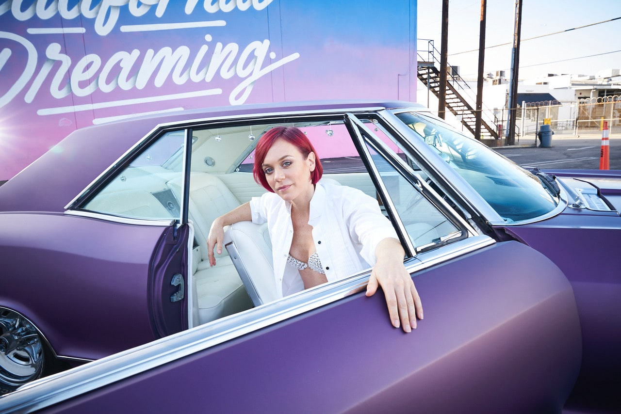 Pinup Pole Show Pinup of the Week: Tonya Kay and the Grape Space Coaster