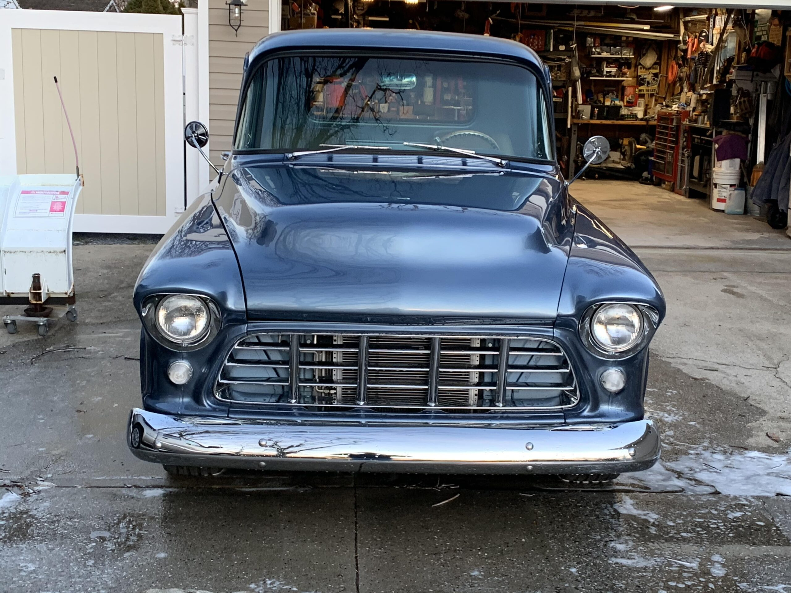 Chris Scottolavino, East Patchogue, NY- 1957 Chevrolet pick up