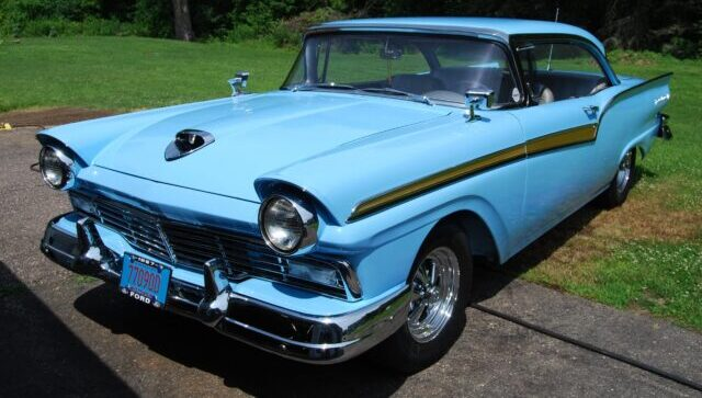 Pandemic Project: 1957 Ford Fairlane Hardtop