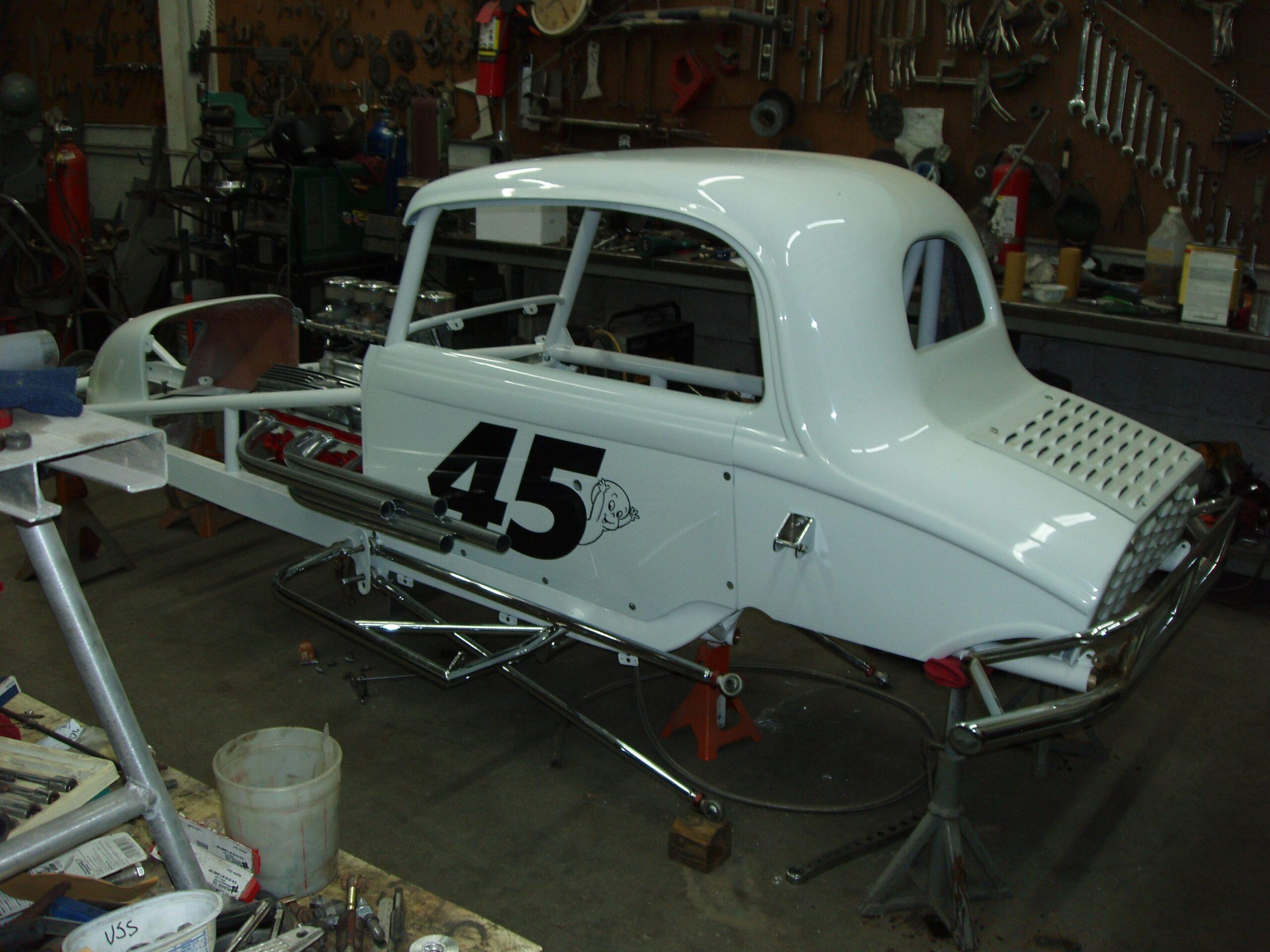 Dennis Frings Race Cars Circa 1958 M S C Supermodified
