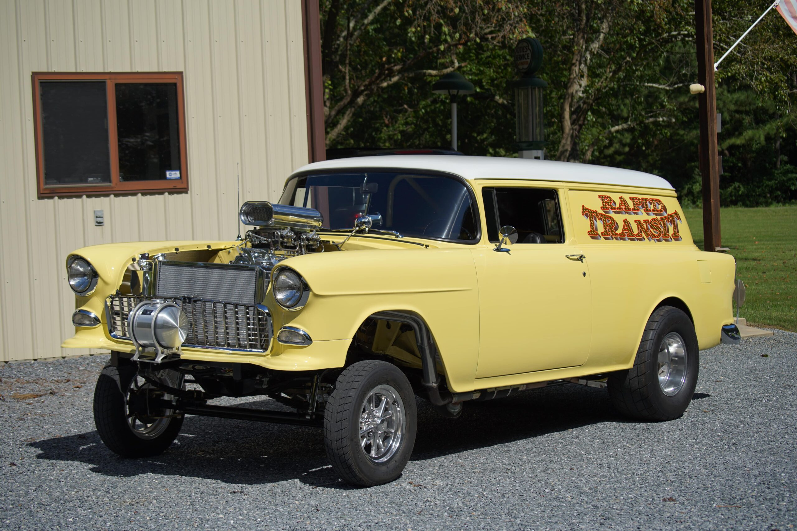 Don Van Bourgondien - Trappe, Maryland - 1955 Chevrolet Sedan Delivery Gasser
