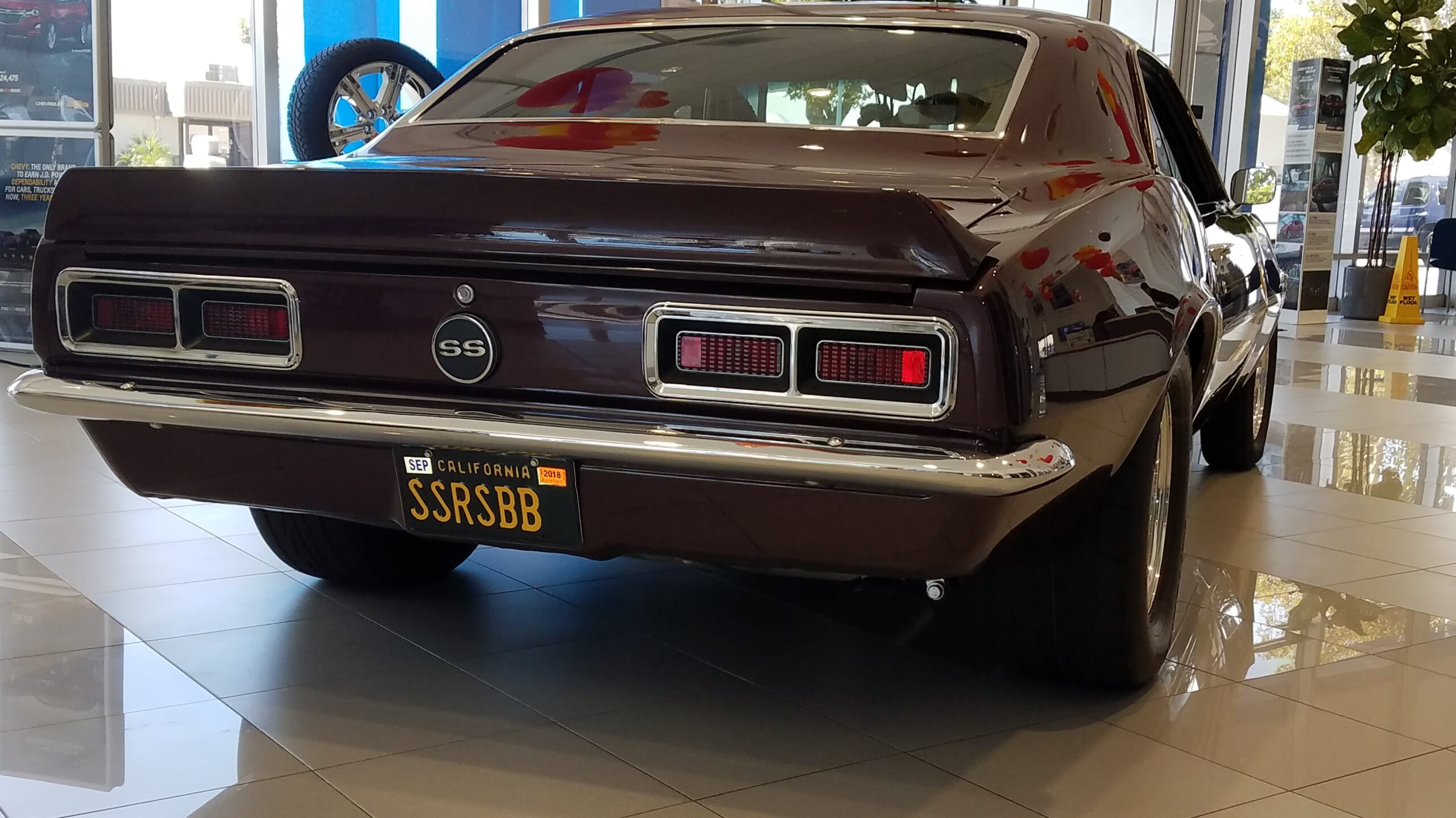 Ed Degner, Montclair, NJ- 1968 Camaro