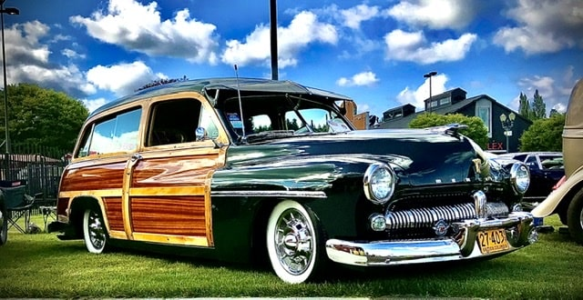 Guy Shields, Duncan British Columbia- 1949 Mercury Woodie