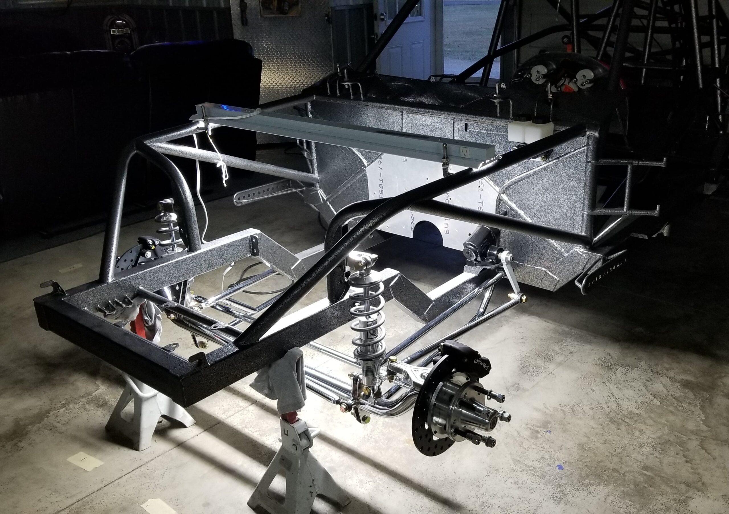 ScottRods Custom 2020 Corvette Body Drag Car