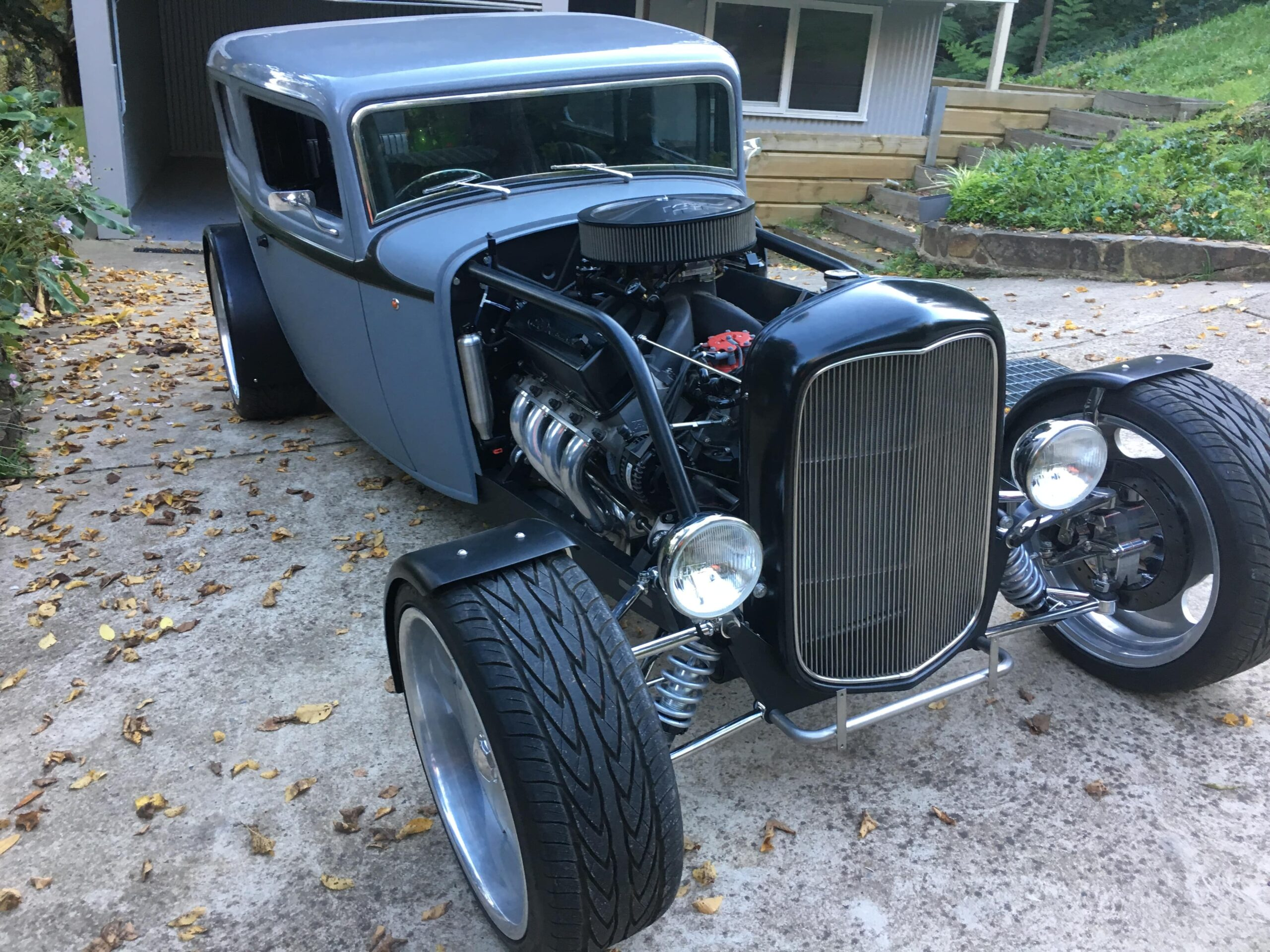 Chris Cox 1932 Ford Tudor Sedan Delivery