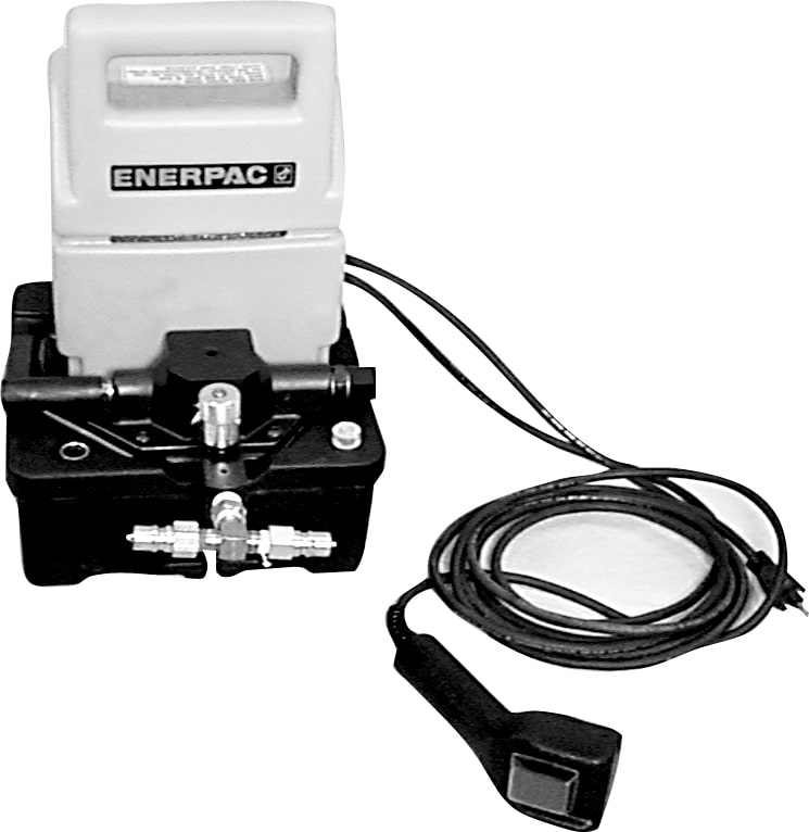 Jerry Bickel E-Z Lift Jack Electric Pump