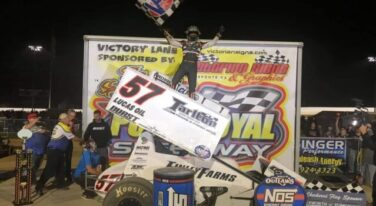 Kyle Larson Sweeps Nittany Showdown at Port Royal Speedway
